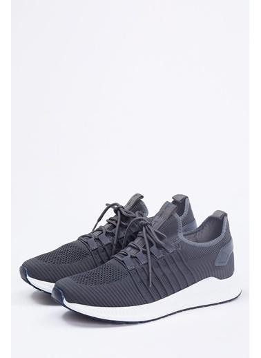 Defacto –Fit Bağcıklı Spor Ayakkabı Gri